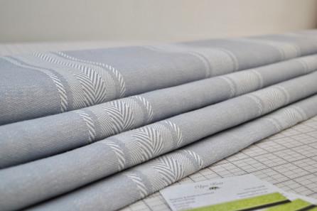 Salcombe stripe cascade blind