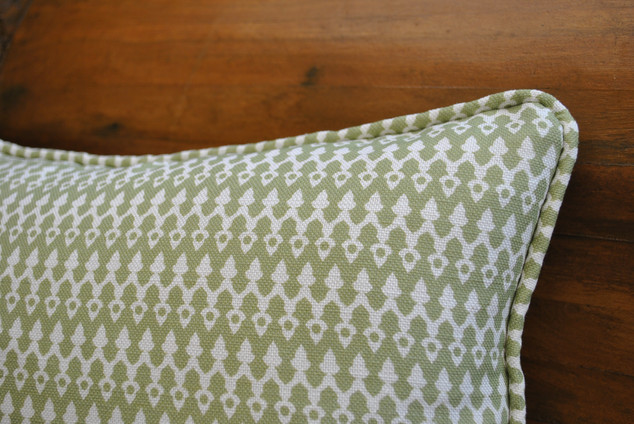 Cushion with piping cord