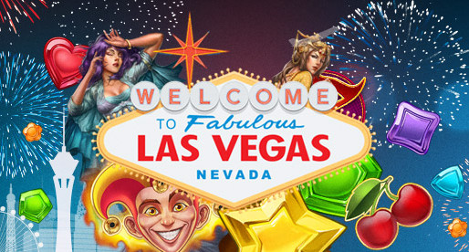 20 trips to Las Vegas & a bunch of free spins!