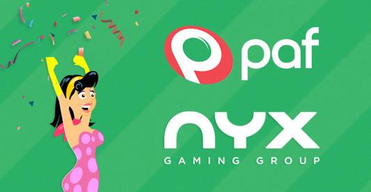 Paf welcomes NYX / Paf.com