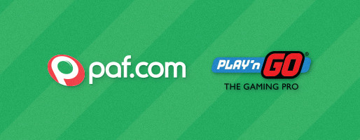 Paf welcomes Play'n GO to the family