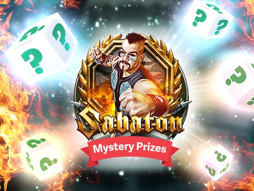 Sabaton slot now live  - Signed guitar, cash & much more!