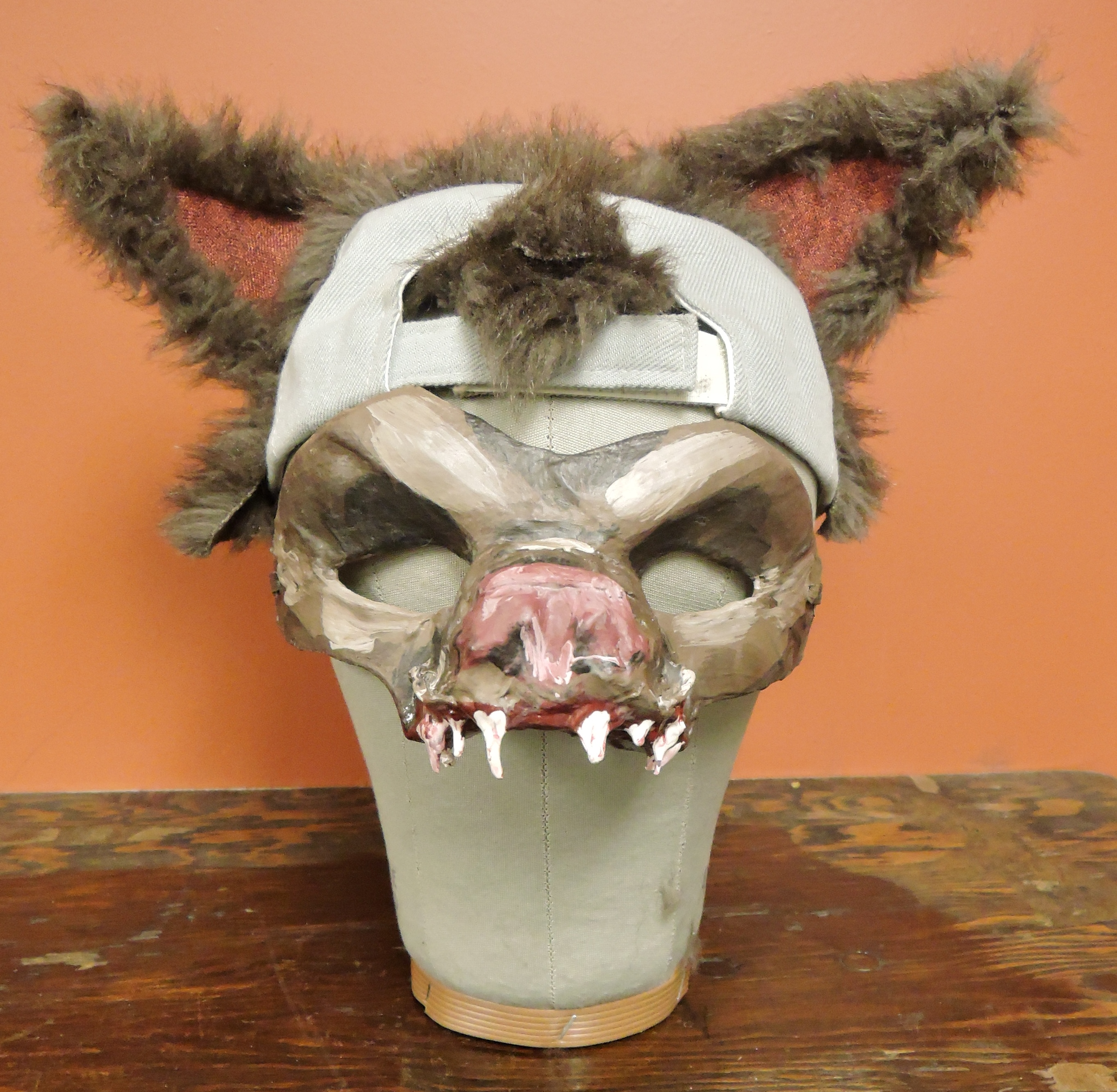 Werewolf Mask and Hat Ensemble