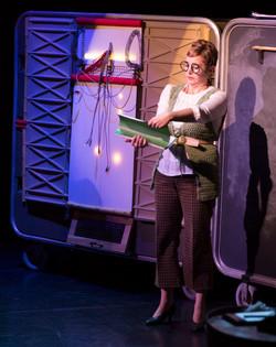 Edith as the Professor