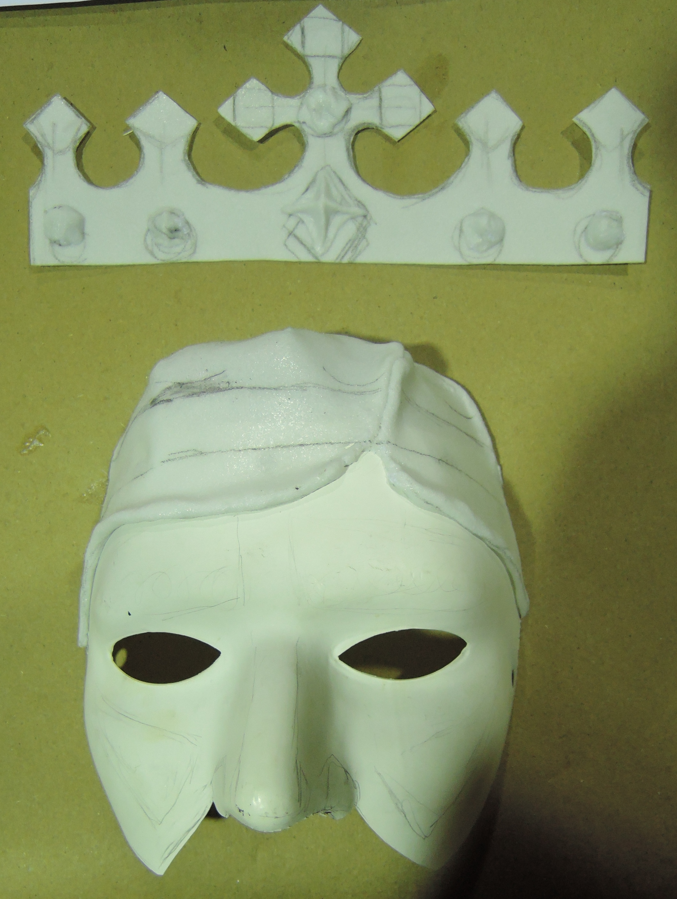 Process for Prince Mask
