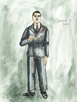George H Jones rendering