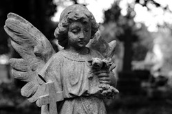 Angel Gravestone