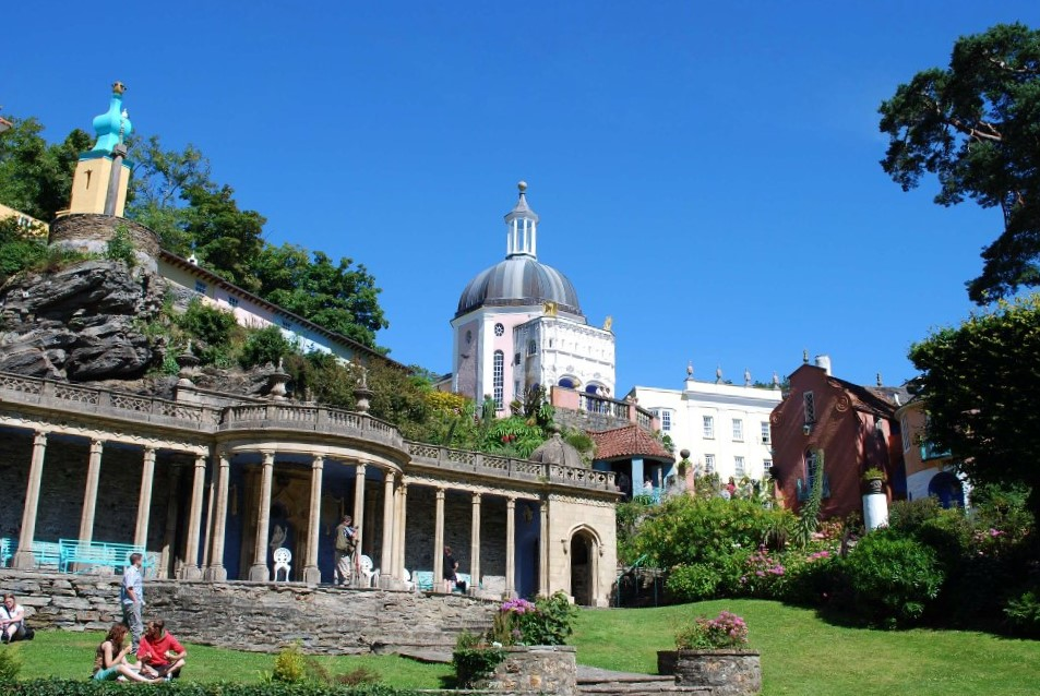 Postmeirion, North Wales
