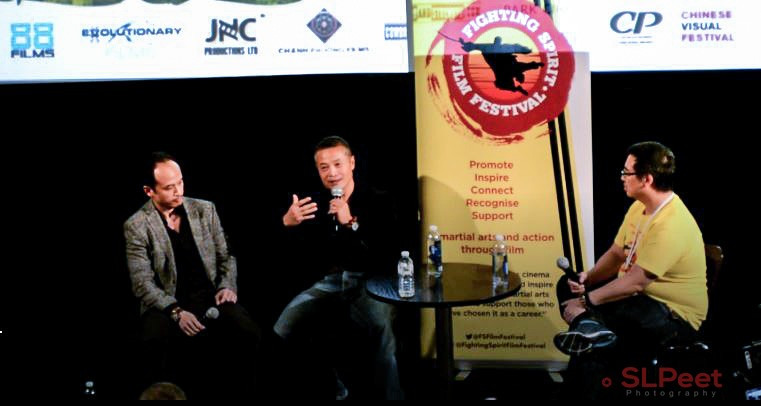 Q&A with producer Jason Ninh Cao and action director/choreographer Vincent Wang after the screening of the film Loi Bao​