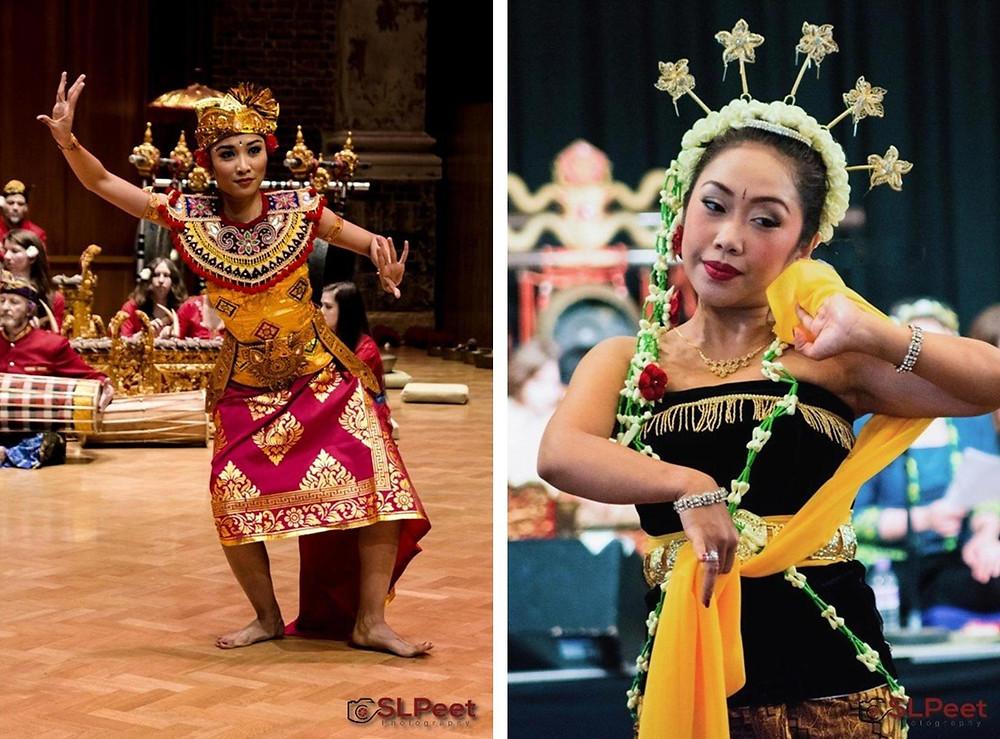 Demang Miring (L)Tari Gambyong Mudhatama (R) - Copyright SLPeet Photography