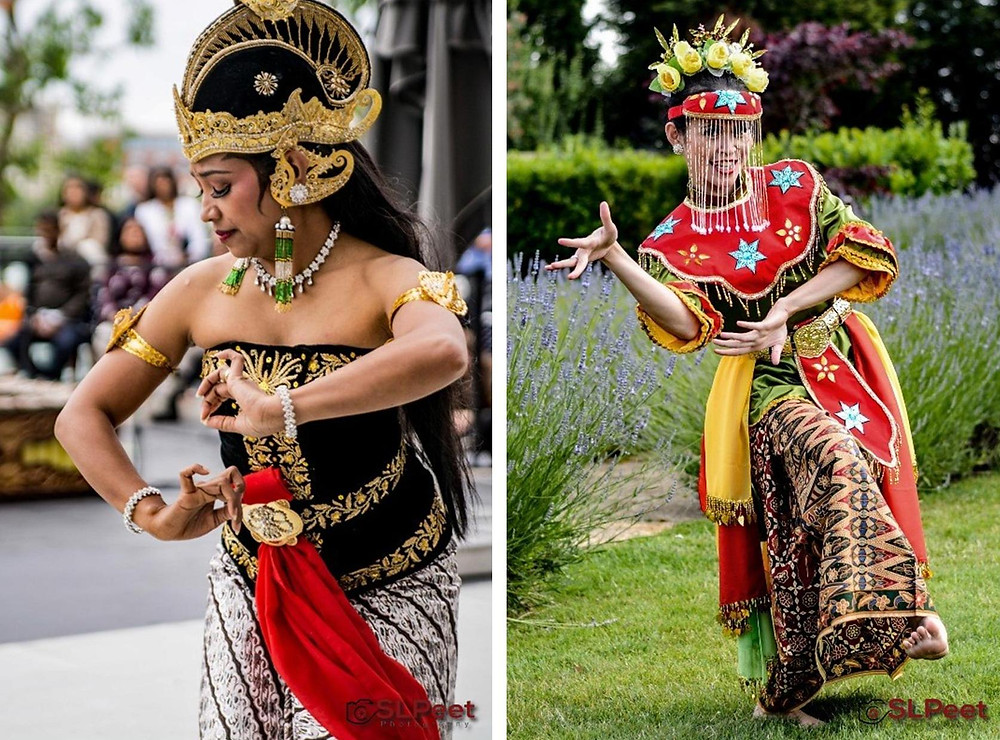 Tari Karonsih (L) Tari Ngarojeng (R) - Copyright SLPeet Photography