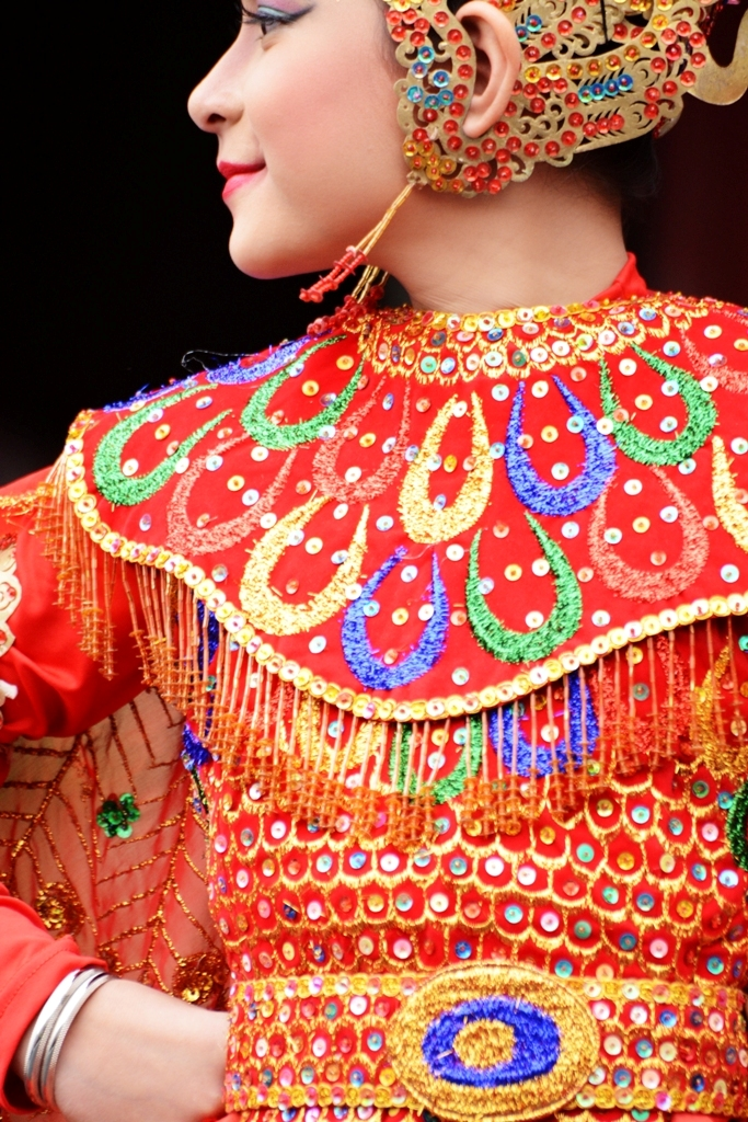 Young Indonesian Dancer