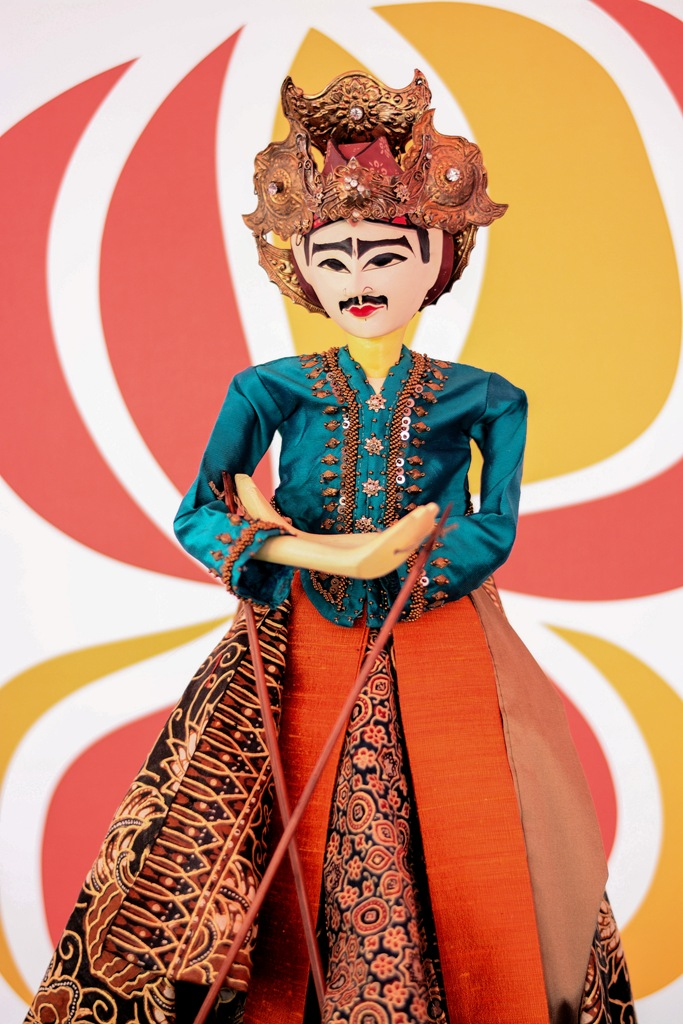 Indonesian Rod Puppet