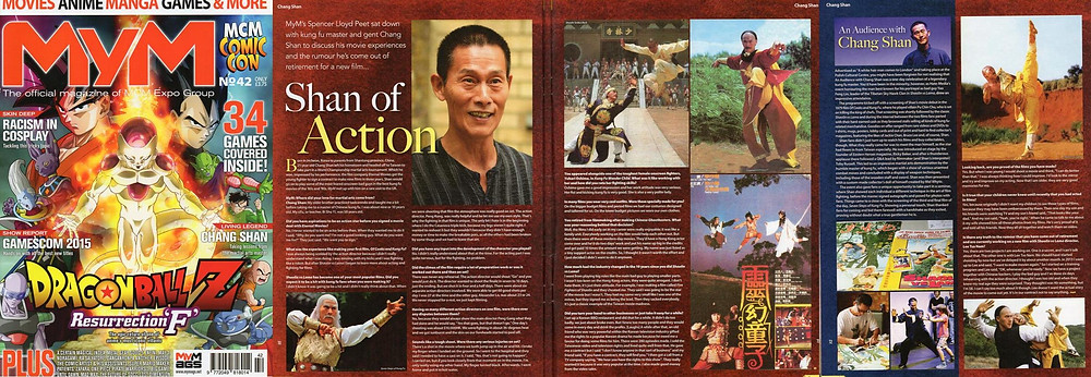 Charng Shan (Chang Shan) interview MyM magazine issue 42