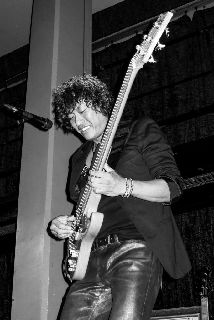 Japanese bass player
