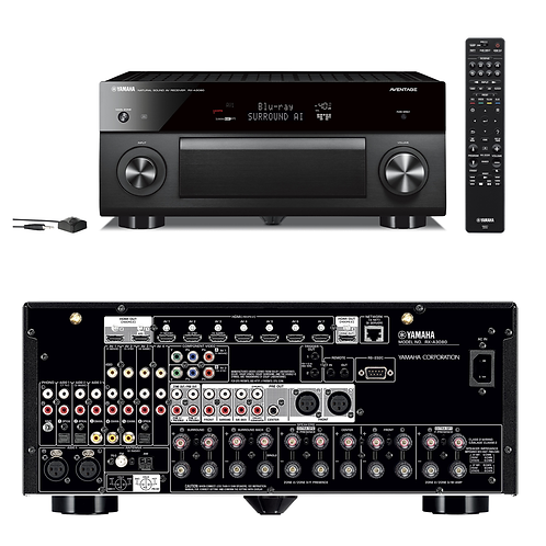 Yamaha Aventage RX-A3080 9.2 Ch AV Receiver with MusicCast