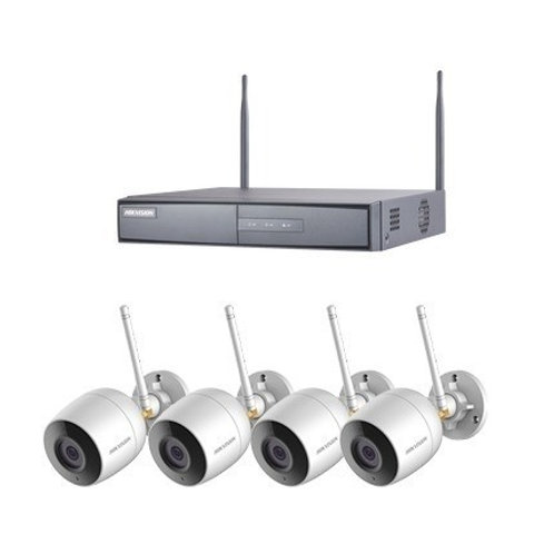Wireless IP camera Kit with 4 bullet cameras