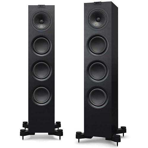 KEF Q550B Uni-Q Floor Standing Speakers, Each