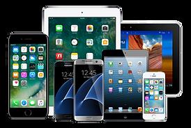phones, tablets