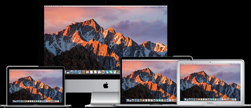 mac and macbook