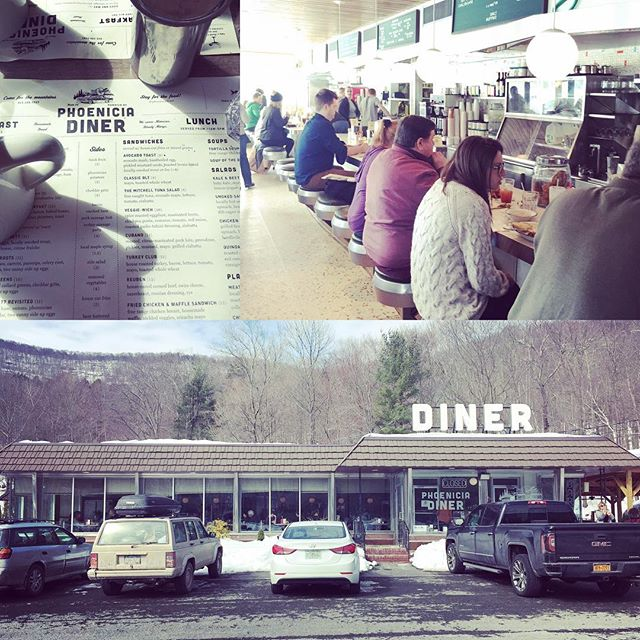 Phoenicia Diner #dinerspecial #roadtrip #catskills