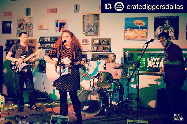 😍 #Repost _cratediggersdallas ・・・__ruby_rae rocked _goodrecords last Friday.jpg More pics added to