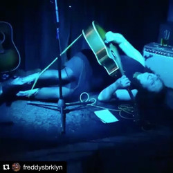 Totally blushing, thx Freddys! #Repost _freddysbrklyn ・・・_Once we saw this #gif we knew _ruby_rae wa