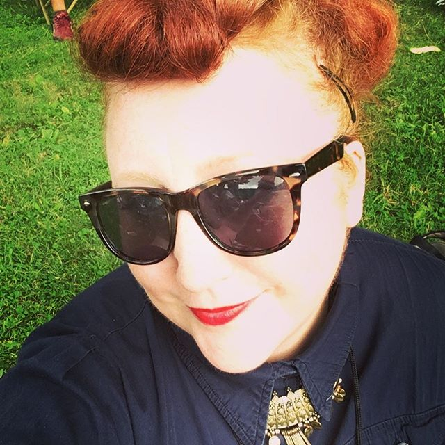 #tbt to a #goth selfie at Roscoe Fest! Headed up to Roscoe NY again this Saturday to play _prohibiti