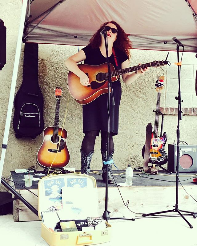 Singing at one of my new favorite venues, _prohibition_distillery! Thanks for the photo _marisarugli
