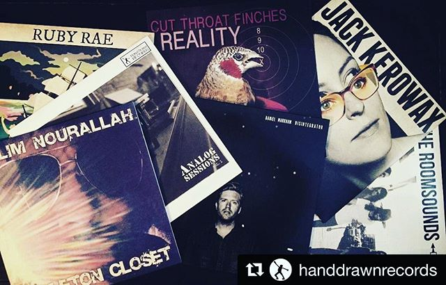 #Repost _handdrawnrecords ・・・_Labor Day Listening #vinyl #vinylrecords #supportlocal #handdrawnpress