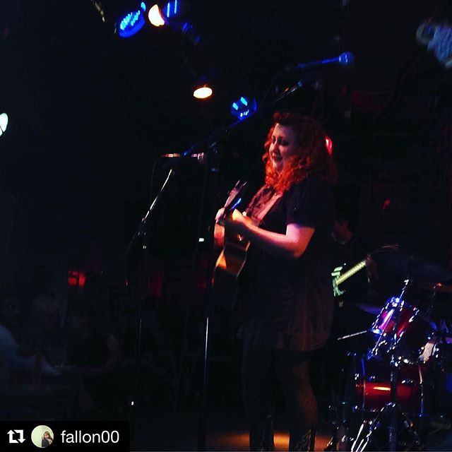 Dreamy pic from a great show at #thebitterend, thanks _fallon00 & everyone who came out! XX ・・・_Ruby