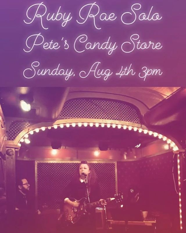 Meet me at the candy shop - Sunday, Augu