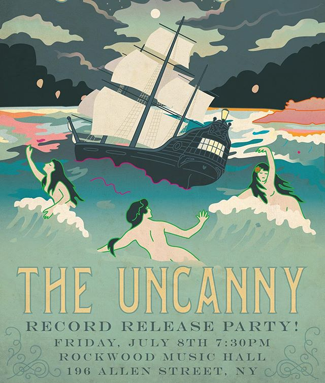 Don't mean to be a broken record, but the record release party is coming up! Don't miss the boat! Po