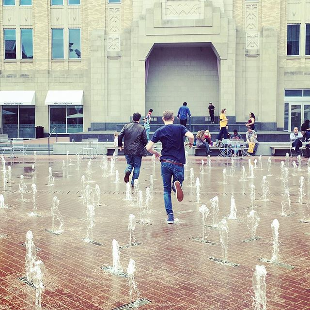 Innocence #fortworth #fountains #tour #bands