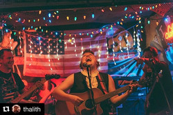 Crazy laugh photo from _thalith from _hankssaloon! ・・・_Ruby Rae from Thursday's show at Hank's Saloo