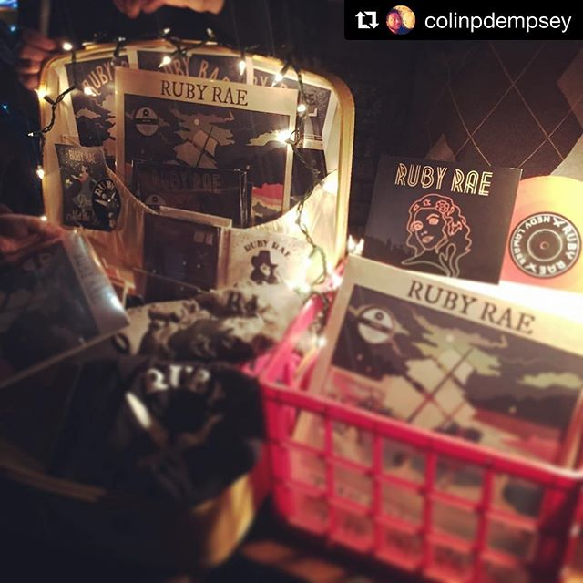 Our pretty merch table! Look at all those Ruby Rae wares! Thanks _jerbearunderwater + _kardyology _h