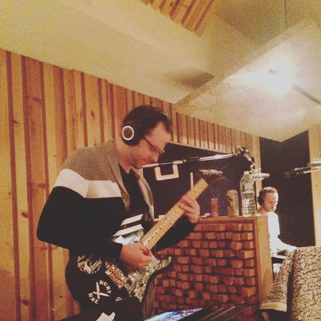 Recording with _edcoleman78 & _tylerktyler this week! 🎶 #newrecord #theuncannysessions #rubyraetheu