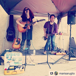 #Repost _marisaruglio ・・・_Ruby Rae and Supersmall bring rain and indie rock to #prohibitiondistiller