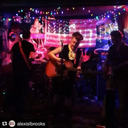 It's a sultry nite for #rocknroll! We play _pineboxrockshop with _maryelainejenkins and _aliceandthe