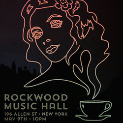 See you at Rockwood Music Hall, Saturday May 9th at 10pm! So excited for this show 😍 xx RR poster b