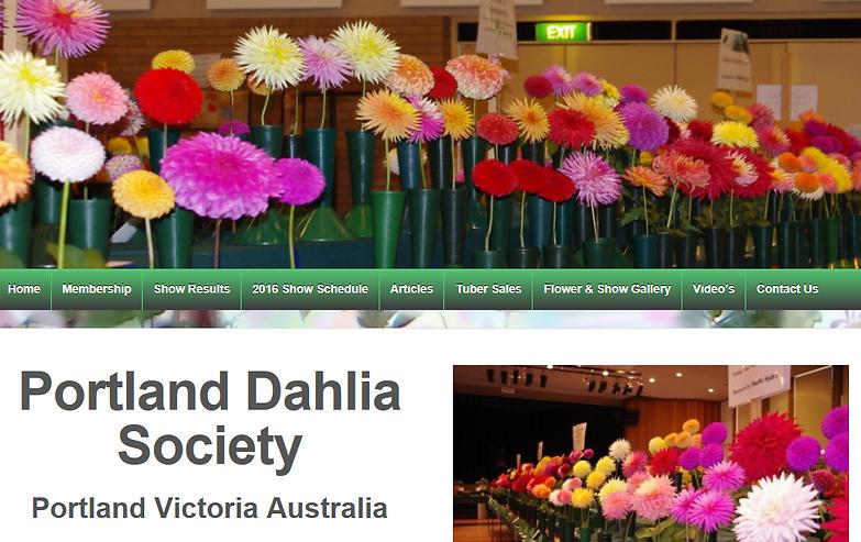 Portland Dahlia Society, Portland,Victoria, Australia