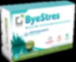 o Saludbox Byestresείναι συμπλήρωμα διατροφής σε μορφή τσίχλας,που βοηθάτην καθημερινή ρουτίνα και τα άτομα με υψηλά επίπεδα στρες και συμβάλλει στη μειωσητου άγχους και τηςανησυχίας.
