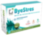 Saludbox Byestres is a food supplement in chewing gum form, that helps everyday routine and people with high levels of stress. It contains tryptophan, melissa and squalera, ingredients that have relaxing effect and help reduce stress and anxiety.