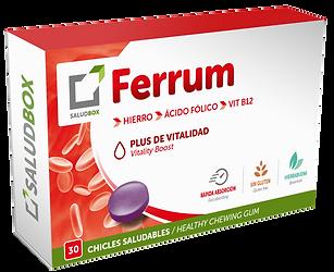 Saludbox Ferrum packaging
