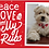 Thumbnail: Bundle of 6  Peace Love and Belly Rub Xmas Cards
