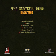 FILLMORE WEST CLOSING disc #2 back cover