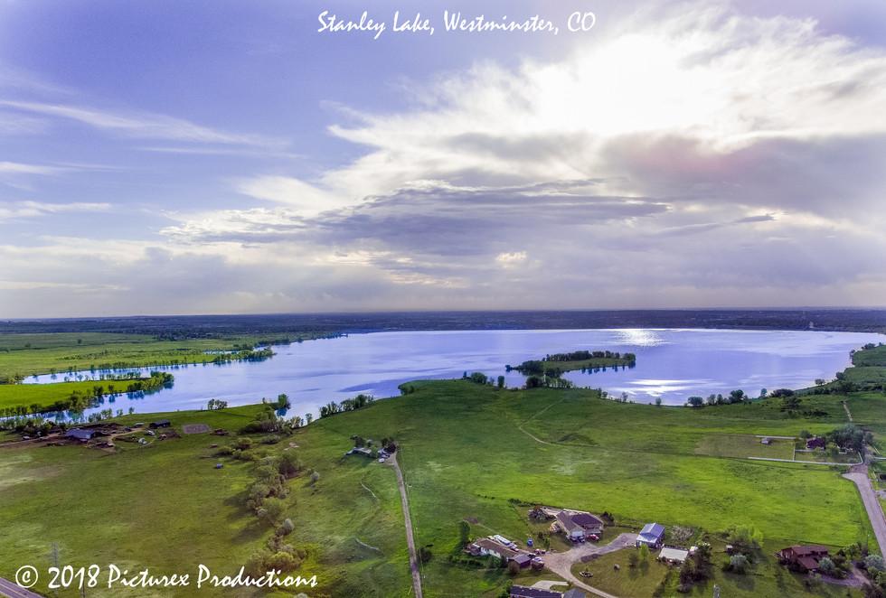 Stanley Lake Aerial