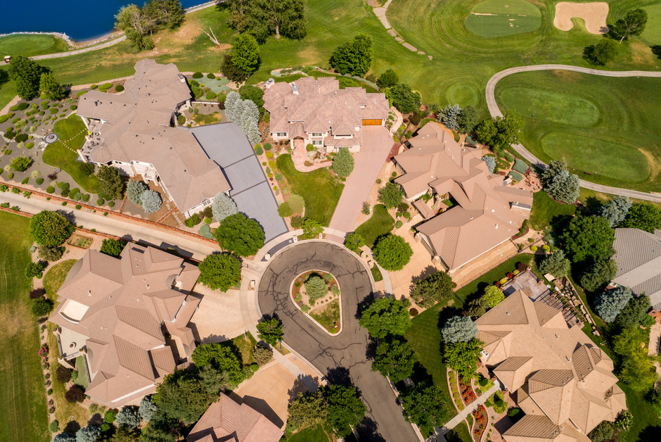 Overhead at 250 ft