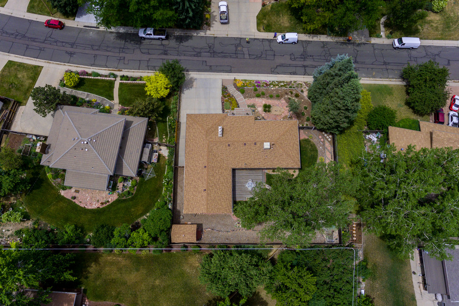 Property overhead at 200 ft