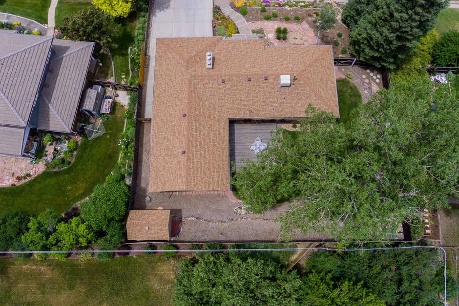 Property overhead at 100 ft